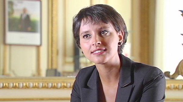 """""""No queremos austeridad"""", Najat Vallaud-Belkacem, portavoz del Gobierno francés."""
