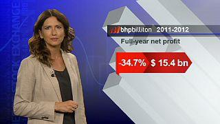 Desaceleração chinesa afeta BHP Billiton