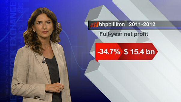 BHP Billiton страдает от замедления роста в Китае