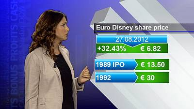 Euro Disney espera la compra de su casa madre