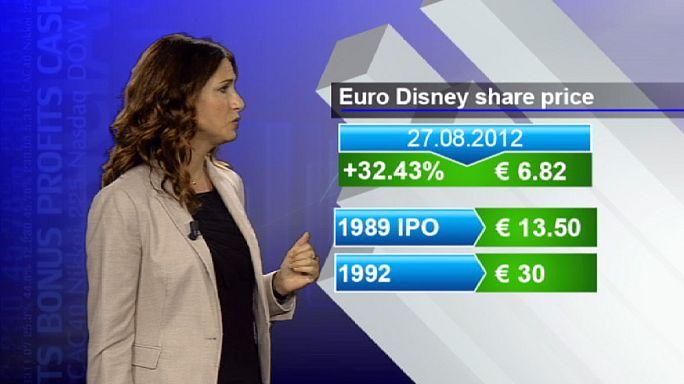 Euro Disney'in Amerika hayali hisselerini uçurdu