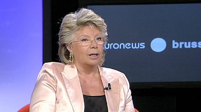 """Viviane Reding : """"Les citoyens doivent être partie prenante de l'aventure européenne"""""""