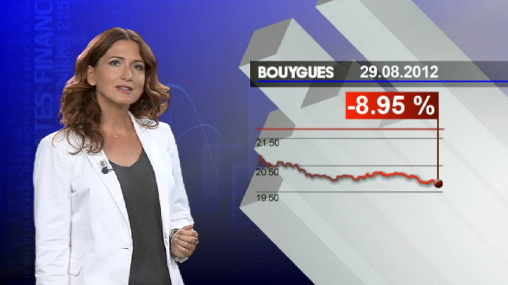 Bouygues wird an der Börse abgestraft