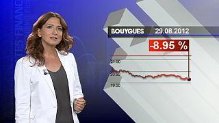 Le marché pénalise fortement le titre Bouygues après des résultats décevants