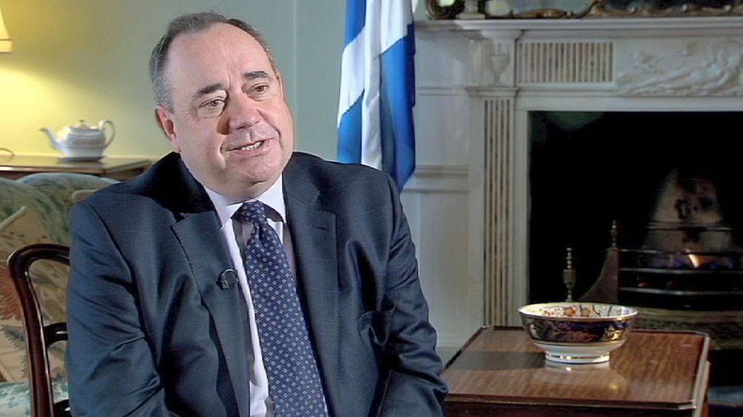"""رئيس وزراء اسكتلندا أليكس سالموند:""""اسكتلندا المستقلة ستسهم في رقي اوروبا والعالم"""""""