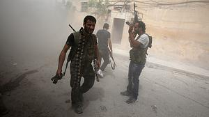 Syrian rebels claim more hits against govt