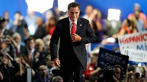 Romney pledges 12 million new jobs as he accepts US presidential nomination