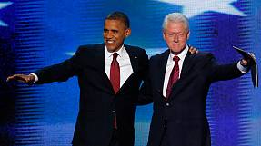 Clinton gives Obama a ringing endorsement