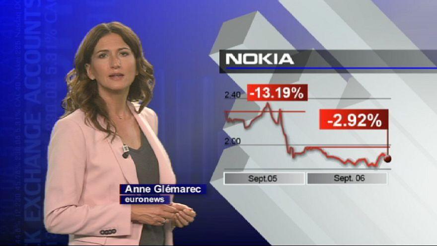 Telemóveis da Nokia não impressionam mercado