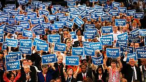 Delegates buoyed by Obama keynote address