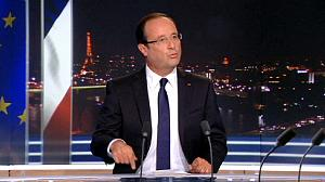 Hollande outlines austerity plan for France
