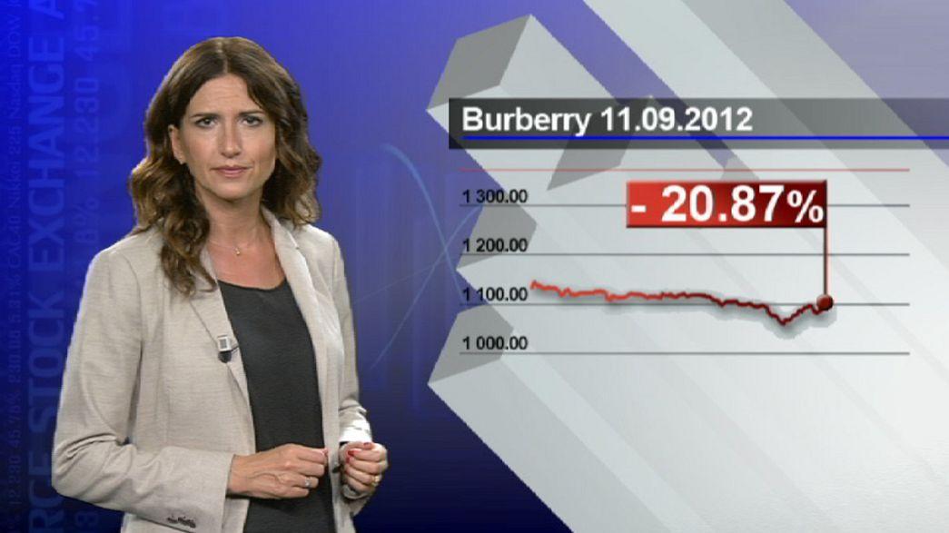 Burberry: in calo la stima dell'utile