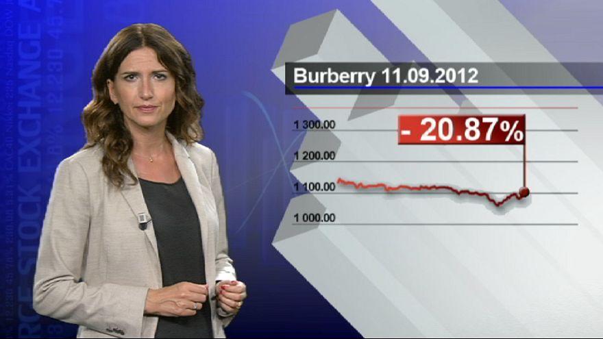 Castigo al lujo de Burbery por sus menores ventas en China