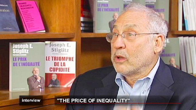 """لقاء مع البروفسور جوزيف ستيغليتز حول كتابه """" ثمن عدم المساواة"""""""