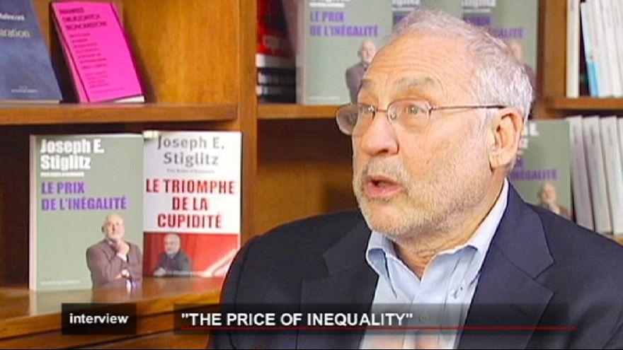 Stiglitz defende crescimentto, contra a austeridade