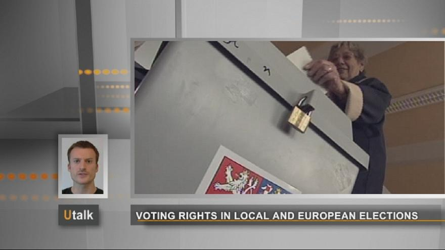 Voting rights in local and European elections