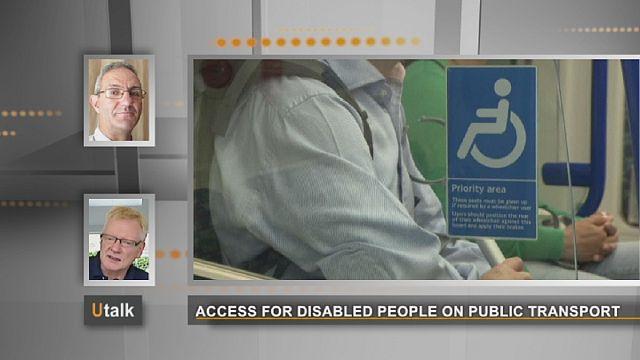 Avrupa'da engelli vatandaşların toplu taşıma sisteminden yararlanması