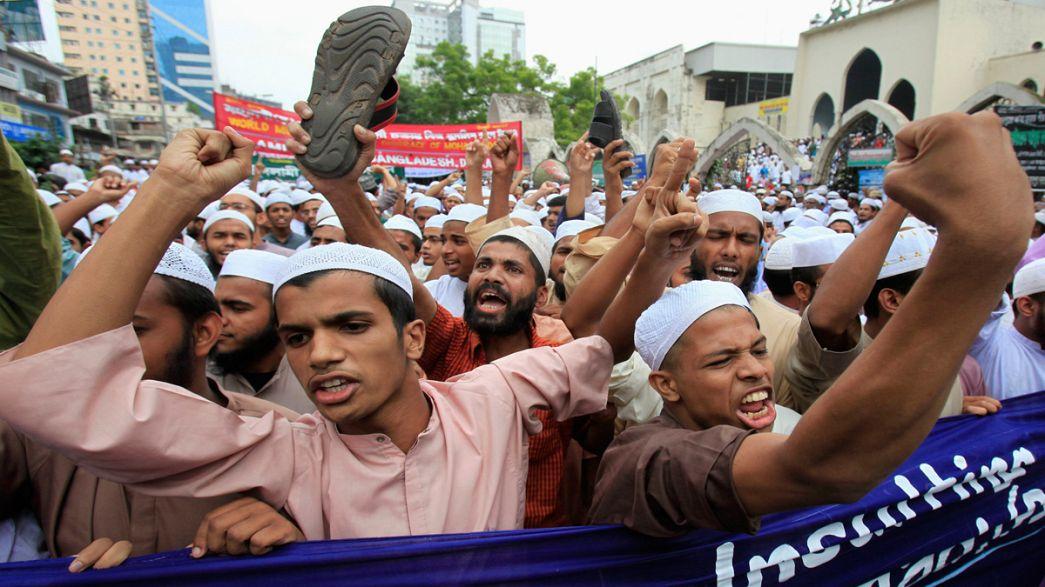 Crescem manifestações islamitas, contra a profanação de Maomé