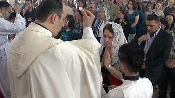 Papa no país mais católico do Médio Oriente