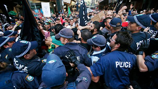 Sydneyh: Anger at 'Prophet Mohammed' video