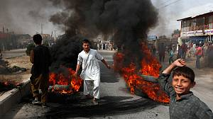 Anti-Islam film: Violent protests in Afghanistan