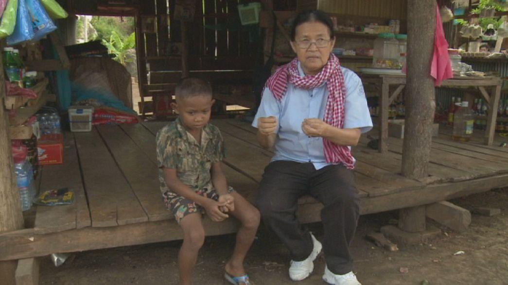 A promessa de Davy Tith ajuda o Cambodja a erguer-se