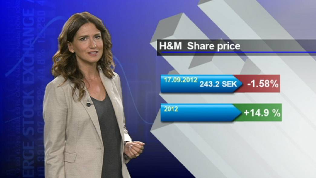 Le suédois H&M a fait les frais de la canicule en août.
