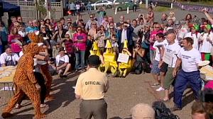 World Custard Pie Championships held