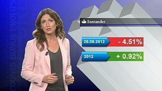 """مصرف """"سانتاندير"""" الأسباني يطرح أسهم فرعه المكسيكي في الأسواق"""