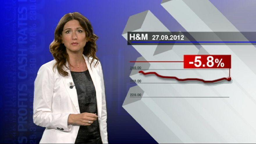 حر آب أحبط مبيعات H&M