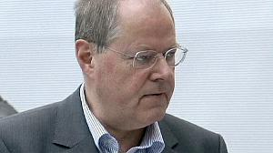 SPD's Steinbruek to face Merkel next year