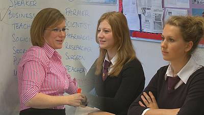 Taking business into Welsh schools