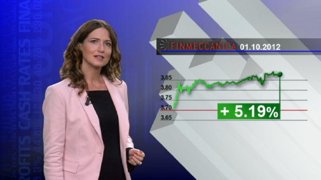 Puja por los valores no militares del italiano Finmeccanica