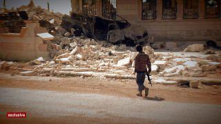 24 horas en Alepo, una ciudad sumida en el caos