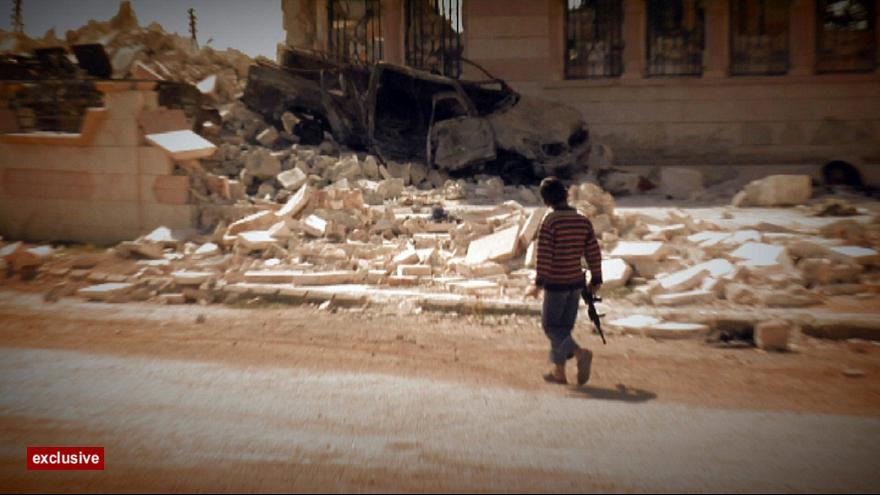 Exclusive: 24 hours in the chaos of Aleppo