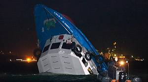 Dozens die in Hong Kong ferry collision