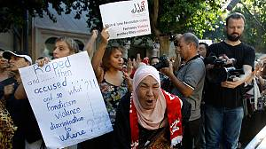 Tunis fury after woman allegedy raped by police officers is accused of indecency
