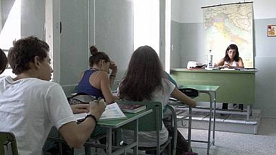 Education on the frontline of the European crisis