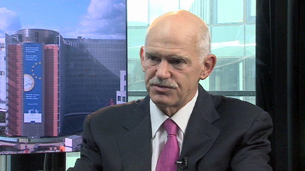 "Papandreou all'Europa: ""Basta coi tagli, ora le riforme"""