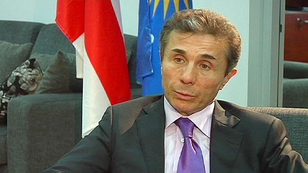 """İvanişvili: """"Ana stratejimiz Avrupa ve Atlantik entegrasyonu"""""""