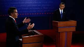 Obama and Romney go head to head in Denver
