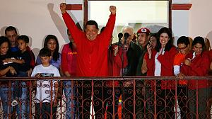 Hugo Chavez wins fourth term in office