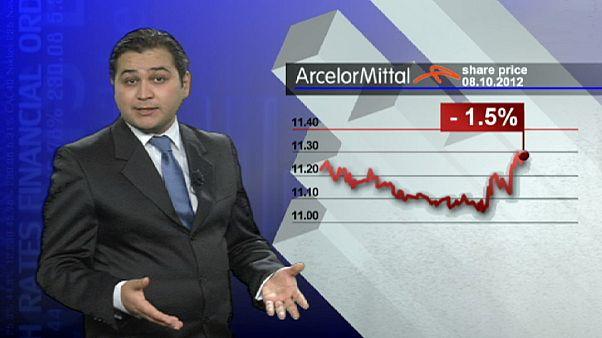 In calo il titolo di ArcelorMittal