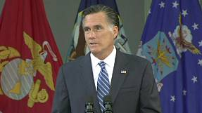 "Put Iran ""on notice"" says Romney"