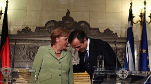 Merkel praises Greek reform and promises support