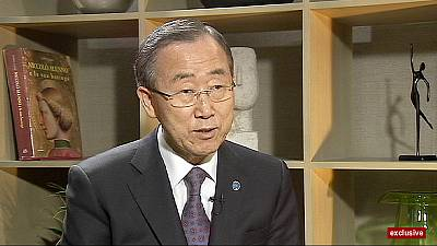 'We need to bring immediate end to the violence in Syria' Ban Ki-moon