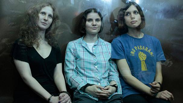 Russian band Pussy Riot shortlisted for Sakharov