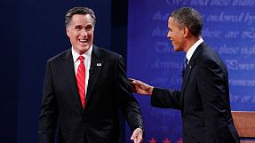 US presidential race swings towards Romney
