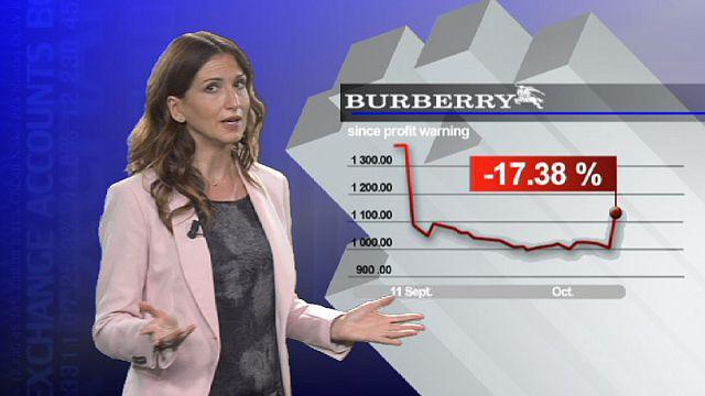 Burberry bounces back
