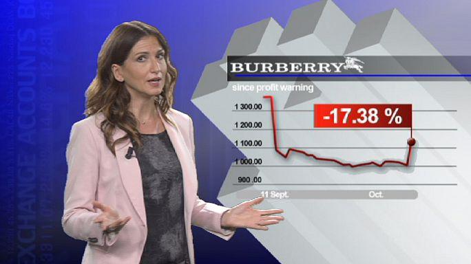 مبيعات بوربيري تنعش أسهمها في لندن
